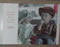 Petit Calendrier Poche 1999 Lavigne PTT Facteur  La Poste Enfants - Petit Format : 1991-00