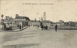 1 Cpa Decize - La Ville Et Le Pont - Decize