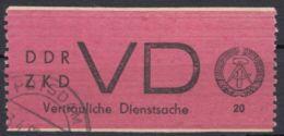 "ZKD : VD 1, Sauberer Stempel ""Potsdam"" - DDR"