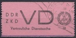 "ZKD : VD 2, Sauberer Stempel ""Potsdam"" - Dienstpost"