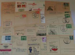 """P 76, 26 Verschiedene Zudruckkarten Ab """"Ulbricht"""", Gebraucht Und Ungebraucht - DDR"""