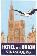 Hotel De L'Union Strasbourg - Publicités