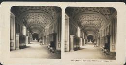 °°° Fotografia Diapositiva 1904 Roma Vaticano Biblioteca D'Urbano VIII °°° - Diapositives