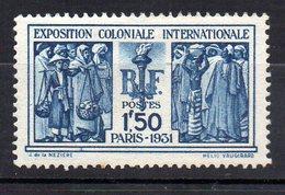 Col11   France  N° 274 Neuf X MH Cote  50,00 Euros - France