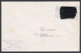 Postkrieg : 479 Pk I B, Bedarf, Übermalung Mit Schwarzer Lackfarbe - BRD