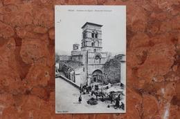 CRUAS (07) - EXTERIEUR DE L'EGLISE - MONUMENT HISTORIQUE - France