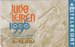 Denmark, R 007, Fdf - Julso Camp 1996, Scouts, Viking, 2 Scans. - Denmark