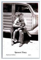 SPENCER TRACY - Film Star Pin Up PHOTO POSTCARD - 285-9 Swiftsure Postcard - Artistas