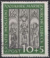 """139 """"Marienkirche"""", Gut Gezähnt, Sauber Gestempelt - BRD"""