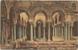 W558 Monreale (Palermo) - Convento Dei Benedettini - Loggette E Convento Dei Benedettini / Non Viaggiata - Other Cities