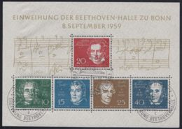 "Block 2 ""Beethovenhalle"", Pass. ESst. - BRD"