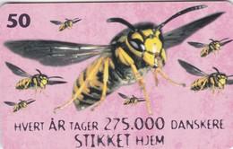 Denmark, R 012, Bees, Mint, 2 Scans. - Denmark