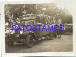 106339 ARGENTINA TUCUMAN VIAJE DE ESTUDIOS UNIVERSIDAD NACIONAL DE TUCUMAN BUS 1941 8.5 X 6.5 CM PHOTO NO POSTCARD - Photographie