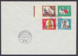"""538/41 """"Märchen"""", 1967, FDC, Dabei Plattenfehler 541 I - BRD"""