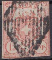 "12 ""Rayon III"", Bedarfsstück - 1843-1852 Kantonalmarken Und Bundesmarken"