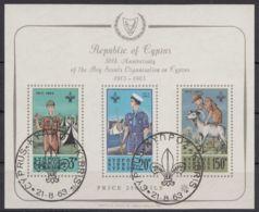"""Block 1 """"Pfandfinder"""", 1963, ESst. - Zypern (Republik)"""