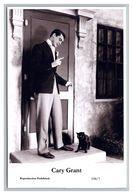 CARY GRANT - Film Star PHOTO POSTCARD - 198-7 Swiftsure Postcard - Artistas