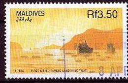 MALEDIVEN Mi. Nr. 1449 O (A-2-33) - Maldives (1965-...)
