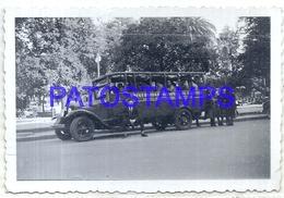 106340 ARGENTINA TUCUMAN VIAJE DE ESTUDIOS UNIVERSIDAD NACIONAL DE TUCUMAN BUS 1941 8.5 X 6.5 CM PHOTO NO POSTCARD - Photographie