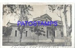 106343 ARGENTINA CORDOBA SAN FRANCISCO CHURCH IGLESIA PHOTO NO POSTAL POSTCARD - Photographie