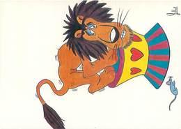 Illustrateur Jean Pierre Gillot  - Souris Lion Cirque     B 791 - Humour