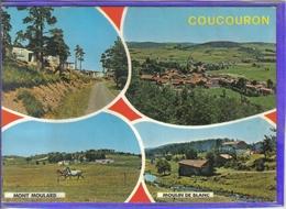 Carte Postale 07. Coucouron Très Beau Plan - France