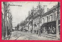 08-Charleville-Avenue De La Gare -cpa écrite - Charleville