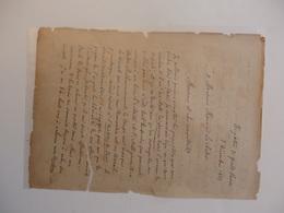 Correspondance De L'historien écrivain Politicien Louis Blanc 1811-1882 à Son Editeur Maurice Lachâtre. - Historical Documents