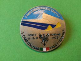 SPORT INVERNALI SPILLE  1° Trofeo Europeo Polizie Traffico Monte Bondone 1973 - Italia