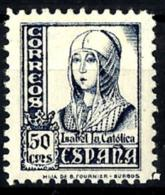 España Nº 825 Con Charnela - 1951-60 Nuevos & Fijasellos