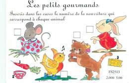 Humour Souris Chat Lapin Poussin - Les Petits Gourmands    B 822 - Humour