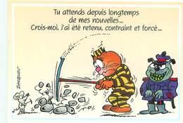 Illustrateur Dacquin - Humour Souris Chats    B 822 - Humour
