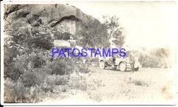 106349 ARGENTINA CORDOBA CAPILLA DEL MONTE & AUTOMOBILE CAR AUTO PHOTO NO POSTAL POSTCARD - Photographie
