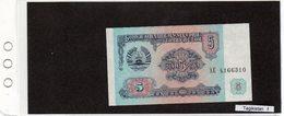 Banconota Tagikistan 5 Diram - Tayikistán