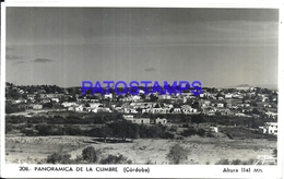 106350 ARGENTINA CORDOBA LA CUMBRE VISTA PANORAMICA PHOTO NO POSTAL POSTCARD - Photographie