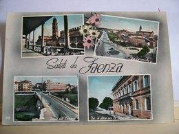 1958 - Saluti Da Faenza - Vedute - Ponte Sul Lamone - Piazza Del Popolo - Via Ceramiche  Istituto D'Arte - Souvenir De...