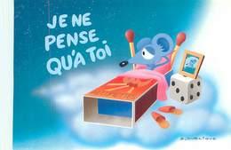 Illustrateur Dublique - Humour Souris Boite D' Allumettes      B 848 - Humour