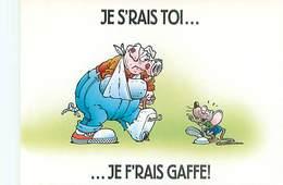 Humour Souris Cochon      B 848 - Humour