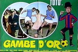 TOTO' GAMBE D'ORO - Manifesti & Poster
