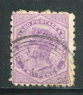 NOUVELLE-ZELANDE- Y&T N°61- Oblitéré - Used Stamps