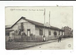 69 CPA Saint St  Fons Foyer Du Soldat Ed Guignon écrite 1918 TBE - France