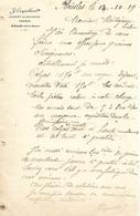 Lettre 1/2 Format 1919 / Haute Marne / BIESLES / J. COQUILLARD / Expert En Assurances / Grains - France