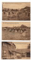 Berlaar:Middelbare Landbouw-Huishoudschool Berlaar-bij-Lier Ecole Moy. Mén.-Agricole Berlaer-lez-Lierre,3 Kaarten - Berlaar