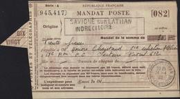 Guerre 40 Mandat En Franchise Militaire Bataillon Chars Lattaquié Savigne Sur Lathan 24 4 40 Poste Aux Armées 612 8 5 40 - Guerra De 1939-45
