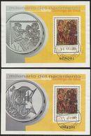 2001-ED. 3818 Y 3819 H.B.-SANTO DOMINGO DE SILOS-USADO- - 1931-Today: 2nd Rep - ... Juan Carlos I