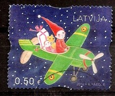 Latvia Lettland 2016 Christmas Gifts - Toys, Airplane Doll, Cock Year USED (0) 0.50 - Latvia