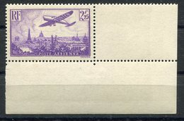 RC 11295 FRANCE PA N° 10 - 2f25 VIOLET AVION SURVOLANT PARIS LUXE COTE 40€ NEUF ** TB - Airmail