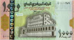 Yemen 1000 Rials (P33) -UNC- - Yémen