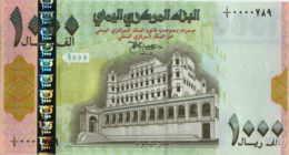 Yemen 1000 Rials (P32) -UNC- - Yémen