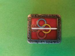 SPORT INVERNALI SPILLE  Campionati Del Mondi Sci Alpino Val Gardena 1970 - Italia
